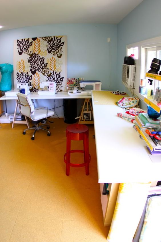The Craft Room Redesign Project Diy Sewing Cutting