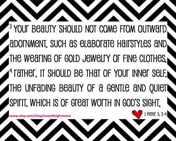 True beauty bible verse