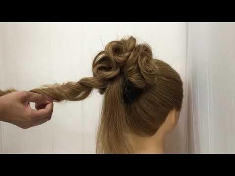 Youtube Bun Hairstyles For Long Hair Easy Hairstyle Video Hair Styles