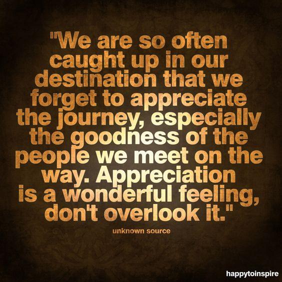 #appreciate