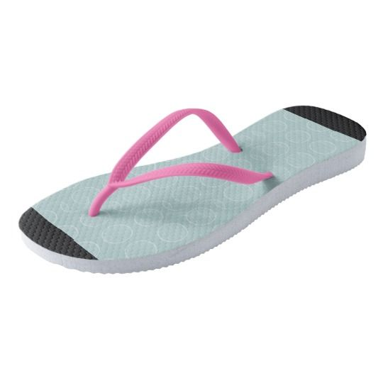 Mod-Bubble's_Blue(C)Multi-Styles Flip Flops