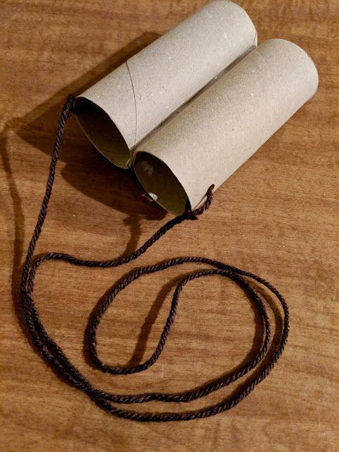 Toilet Paper Roll Binoculars | Toilet paper roll, Binoculars for ...