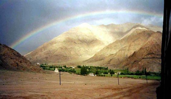 Primera visión del Valle de Ladakh