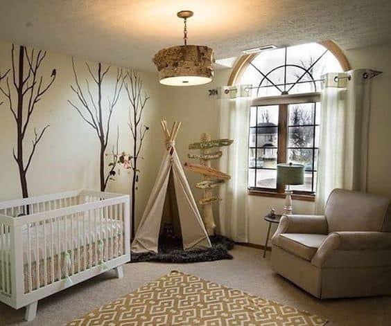 12 Modern Woodland Themed Nursery Ideas For A Baby Cynical Parent Boy Room Design