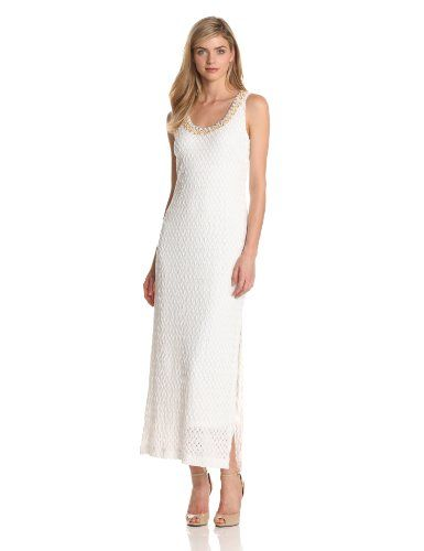 Donna Morgan Women's Lace with Embellished Neckline Maxi Dress, White, XX-Small Donna Morgan,http://www.amazon.com/dp/B00DFWW7JC/ref=cm_sw_r_pi_dp_0dixsb0BRMTV5HP4