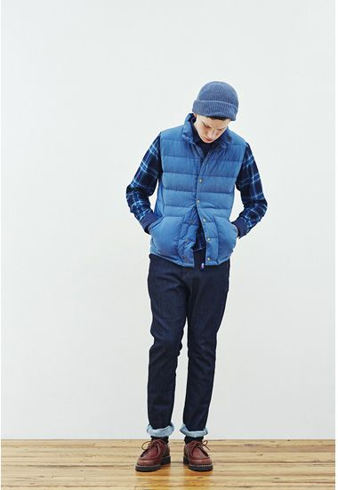 The North Face Purple Label〜 Indigo Dyed Vest