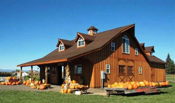 Barn homes barns and metal barn homes on pinterest for Western home plans