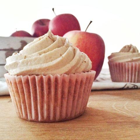 LalaSophie: Apfel-Zimt Cupcakes