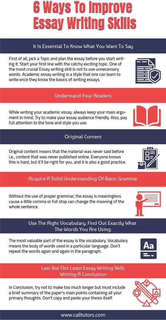 Essay Writing Skill Help On Skills