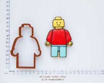 Lego Man Cookie Cutter