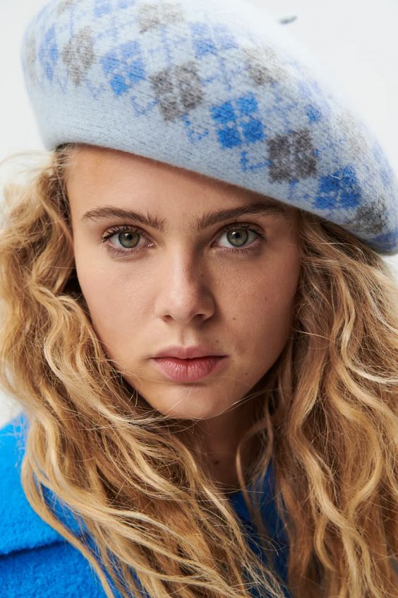 Argle wool beret Zara
