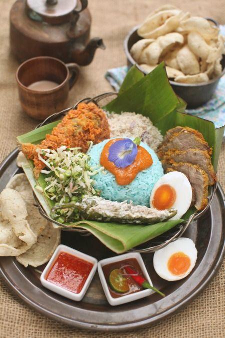 Resepi Nasi Kerabu Kelantan Yang Sangat Sedap Masam Manis Makanan Dan Minuman Makanan Resep Makanan
