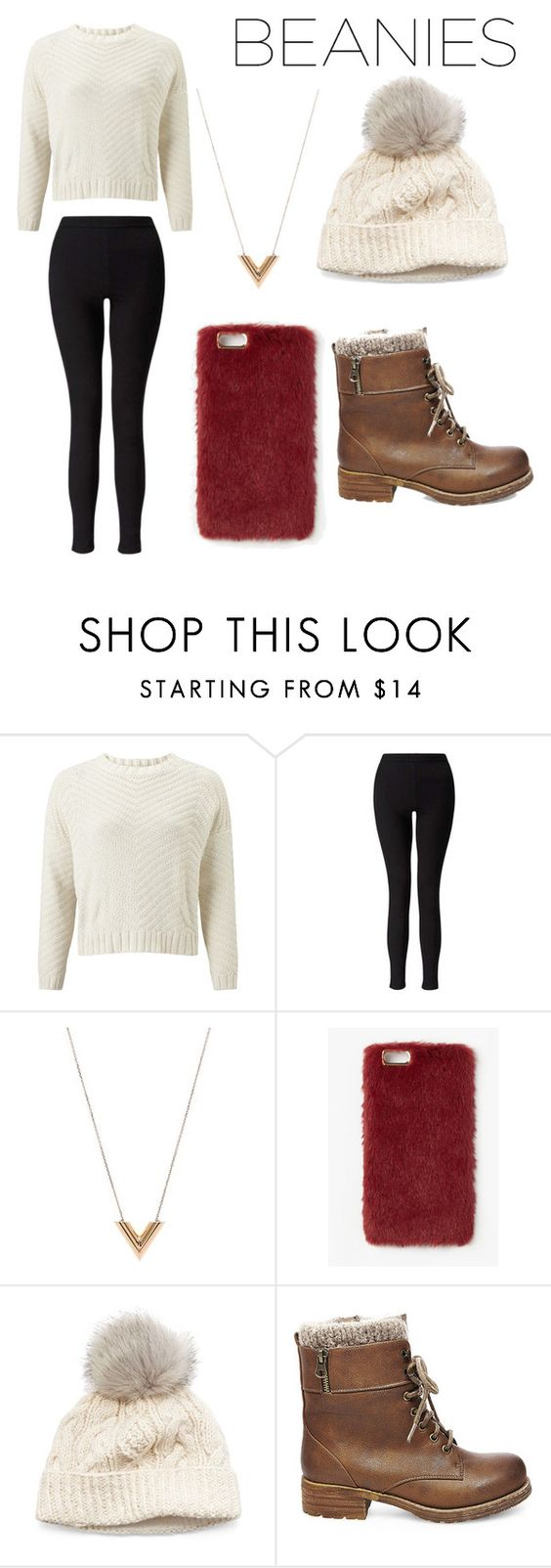 """Best beanie outfit ever 😊😊"" by siyaw ❤ liked on Polyvore featuring John Lewis, Miss Selfridge, Louis Vuitton, Missguided, SIJJL and Steve Madden"
