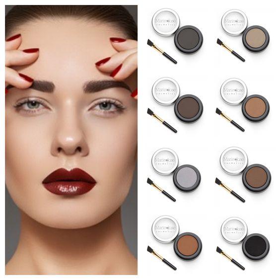 Augenbrauenpuder von Marie-José Cosmetics für einen ausdrucksstarken Look!
