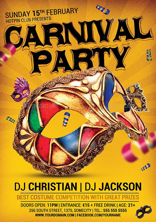mardi gras party flyer template party flyer templates for clubs carnival flyer templates