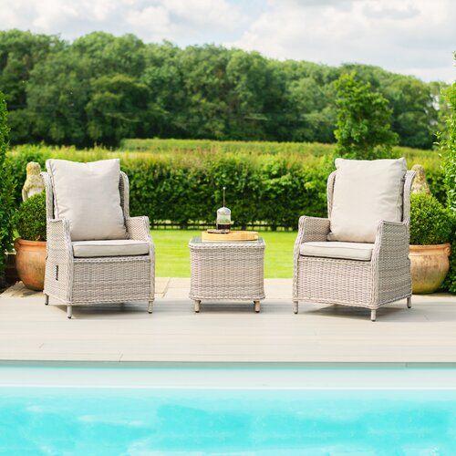 2 Sitzer Lounge Set Canica Aus Polyrattan Mit Polster Garten Living In 2020 Rattan Outdoor Furniture Sets Rattan Armchair