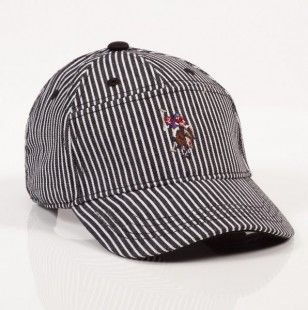 Railroad Stripe Cap