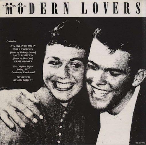 Modern Lovers The Original Modern Lovers 1983 The Modern Lovers Album Cover Art Album