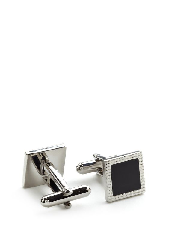 Cufflinks are some of the most expressive accessories for men.  I would judge a man's character by looking at the cufflinks they wear... Square, elegant, and I can just see someone who can protect.  By Link Up.