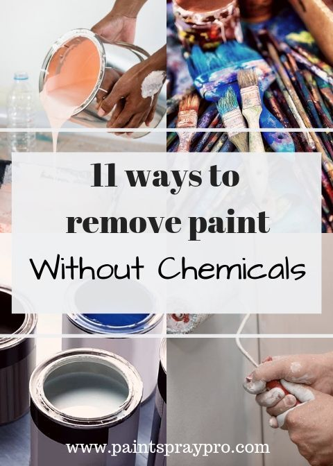 How To Remove Paint From Wood Without Chemicals Best Paint Sprayer Cleaning Paint Brushes Paint Thinner