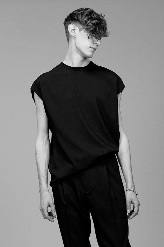 living in darkness, black x black Lanvin SS15 Pre-Collection// menswear style + fashion