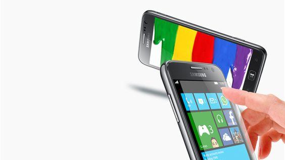 Smartphone - Touchscreen Geräte mit Windows   Samsung