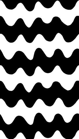 Lokki Fabric Black/White | Kiitos Marimekko