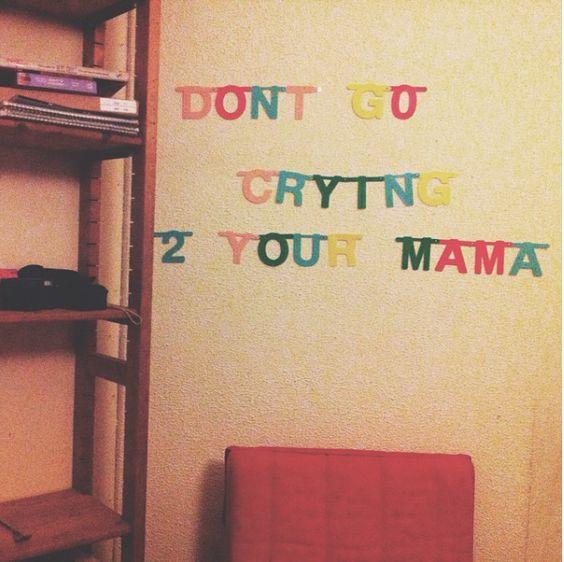 Don't go crying to your mama! via instagram.com/hedwigsinnema/