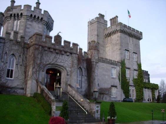 This castle, Dromoland Castle, in Ireland is my inspiration for a 'castle' B&B mentioned in Ink Master. It's featured in upcoming books as well.