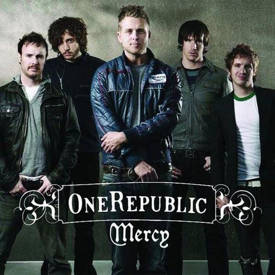 OneRepublic – Mercy (single cover art)