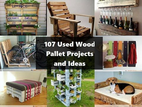 Great Ideas - http://homestead-and-survival.com/107-ingenious-pallet-projects-ideas/