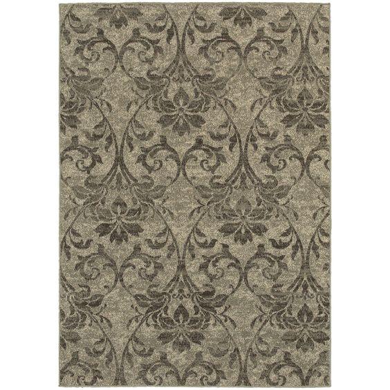 Harmony Gray/Ivory Area Rug