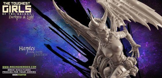 TGG2: Update #51 – Harpies (Lust Elves - F) | Raging Heroes
