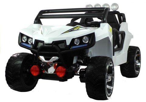 Auto Na Akumulator Buggy 4x4 Dwuosobowy Pojazd Na Akumulator Kl2988 Biale Toy Car Sports Car Car