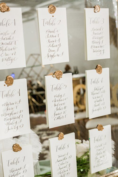 Table Plan Cards Brown Card Table Names Wedding Table Wedding Stationery Modern Calligraphy Calligraphy Rustic Wedding Table Plan