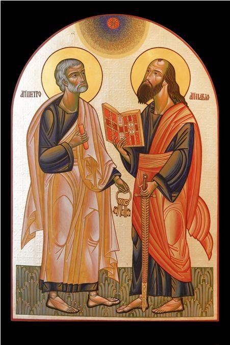 St. Peter & St. Paul by Lyuba Yatskiv
