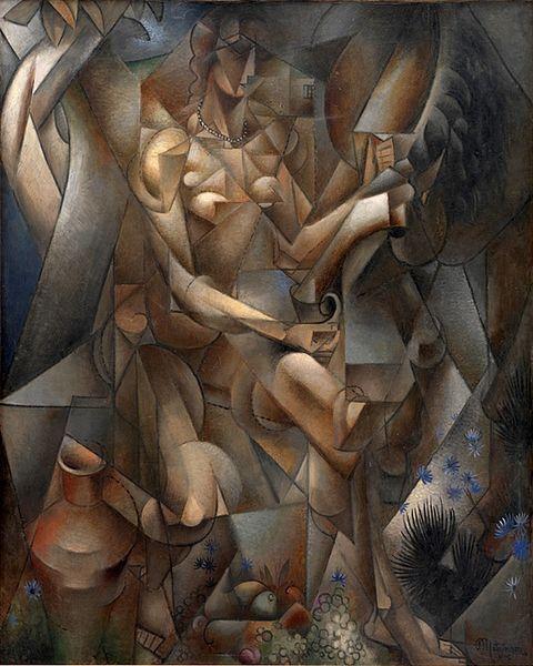 La Femme au Cheval, 1912, Jean Metzinger: Woman, Women, 1912 Statens