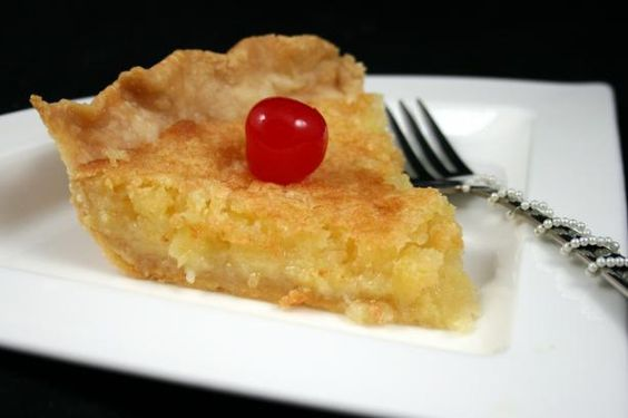 Pineapple Pie (Johnny Cash's Mother's Recipe).  1 1/2 cups sugar 1/2 cup butter 1 cup crushed pineapple 3 tablespoons flour 1 teaspoon vanilla 2 eggs 1 unbaked pie shell  Directions:  1 Beat together all ingredients. 2 Pour into unbaked pie shell and bake 50 minutes in 350 degree oven or until it sets and is brown.