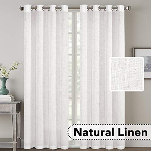Patterned Sheer Curtains 108 Inches Long Curtains Grommet Window Treatments Chic Dorm Room 108 inch sheer curtain