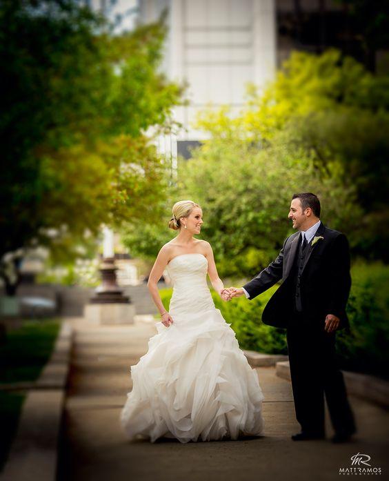 Bride and groom   © Matt Ramos Photography