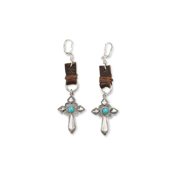 Southwestern Jewelry-Cowgirl Jewelry-Southwest Jewelry in Turquoise... ($245) ❤ liked on Polyvore featuring jewelry, earrings, silver jewelry, silver turquoise jewelry, silver western jewelry, turquoise jewellery and silver jewellery