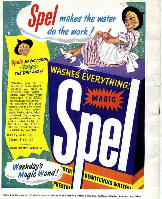 CWS Spel washing powder by sludgegulper via Flickr CWS Pelaw