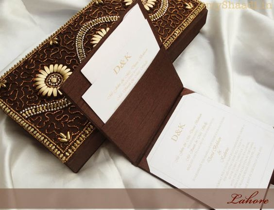 Luxury Invitations for a Royal Indian Wedding – Royal Indian Wedding Cards