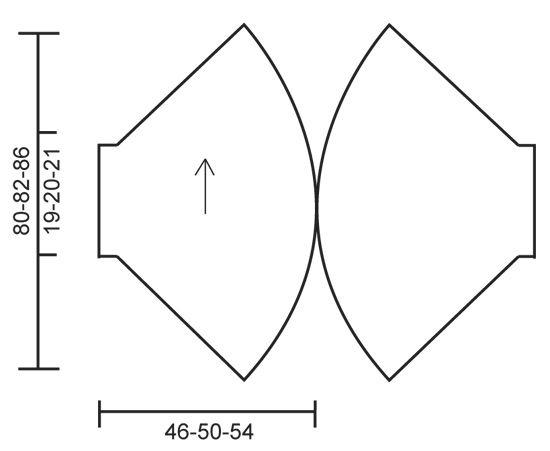 """Gentle Breeze - Chaqueta de punto DROPS tejida en círculo en punto musgo y punto jersey con """"Verdi"""". Talla: S - XXXL. - Free pattern by DROPS Design"""