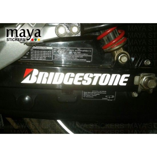 Bridgestone Logo Stickers Decal For Bikes And Cars Bridgestone Stickers Logo Sticker
