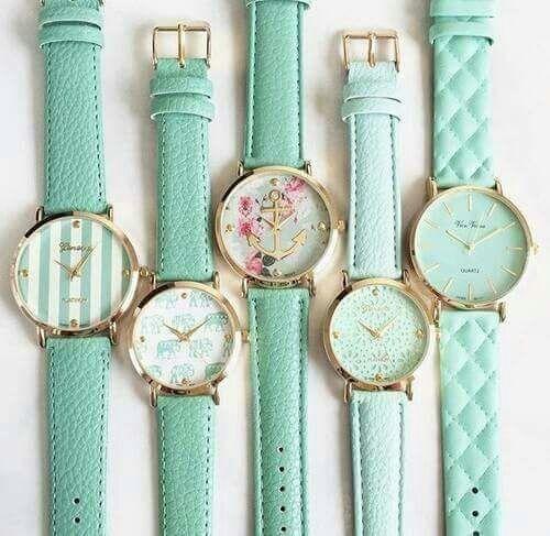 mint and watch image   - Kates mint/blush paridise - #image #Kates #Mint #mintblush #paridise #watch