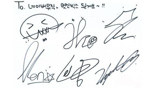 vixx signatures kpop oh yea d pinterest