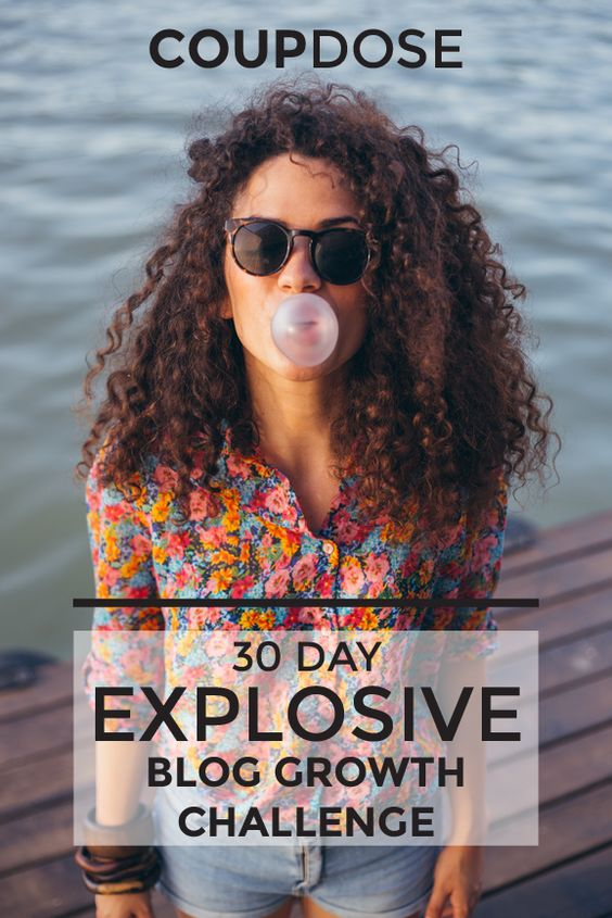 30 DAY EXPLOSIVE BLOG GROWTH CHALLENGE! Action Guide Too!