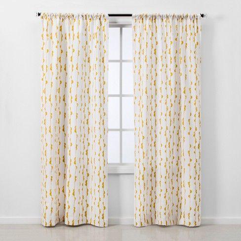 2pc Vines Light Filtering Window Curtain Panels Project 62