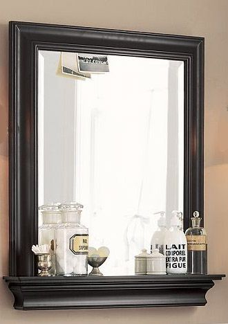 5 tips to transform your bathroom mirror with shelf. Black Bedroom Furniture Sets. Home Design Ideas